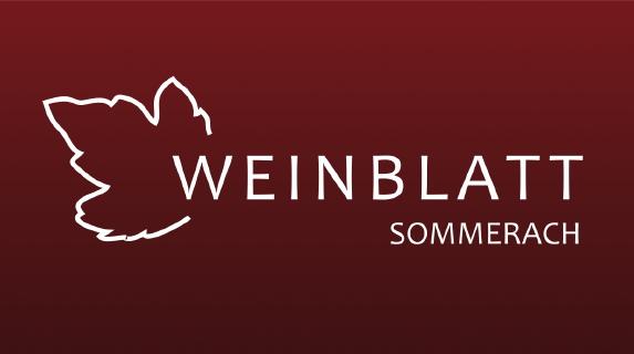Weinblatt Sommerach